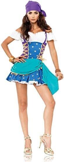 Leg Avenue Gypsy Princess Esmeralda Women's Halloween Costume Size XS New