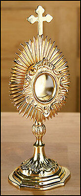 """Small Reliquary - Brass - 3 x 9"""" High - Free Shipping"""