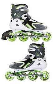 Professional Adult Inline Roller Blades (Used 4 times) (Size UK 8/9)