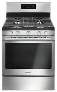 MAYTAG  MGR6600FZ  5.0 CU. FT. 30-INCH WIDE GAS RANGE WITH 5 BURNERS - (BD-2041)