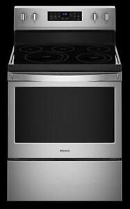 Whirlpool  YWFE520S0HW  5.3 cu. ft. guided Electric Rear Control Range on Sale (BD-2180)
