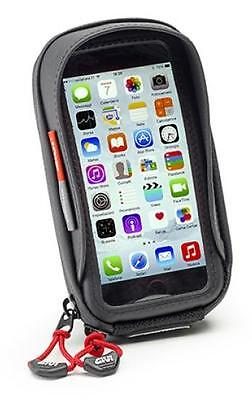 Givi GPS + Smartphone Pouch for I-Phone 6 and Galaxy S5 Incl. Bracket S956b