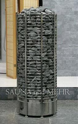 SAWO Saunaofen Tower - Heater TH6 - 8 kW incl. 160 kg  Saunasteine