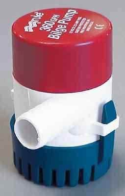 360 Gph Pump - Rule 24 360 GPH Bilge Pump 12 Volt 3/4