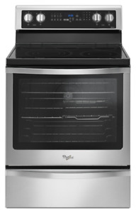 """WHIRLPOOL STOVE 30"""" STAINLESS STEEL SELF CLEAN / CONVECTION 600"""
