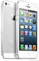 White iPhone 5 with Bell