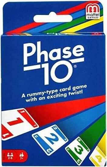 Mattel Phase 10 Card Game (W4729)