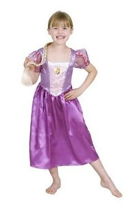 DISNEY TANGLED RAPUNZEL GIRLS KIDS DRESS UP COSTUME - SIZE 3-5