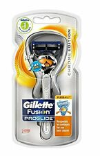 Gillette Fusion Proglide Flexball, Chrome Edition, 1 Razor + 2 Refill Cartridges