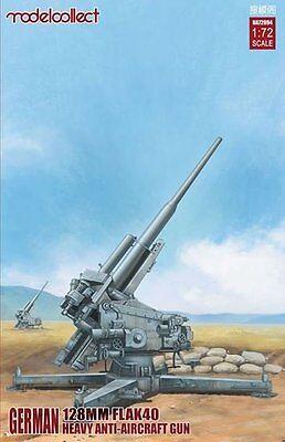 TOP MODELLE MODELCOLLECT  GERMAN 128 MM HEAVY FLAK 40 ANTI AIRCRAFT GUN IN 1/72