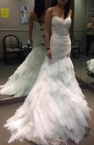 NEVER WORN CASABLANCA SOFT TULLE FIT AND FLARE GOWN