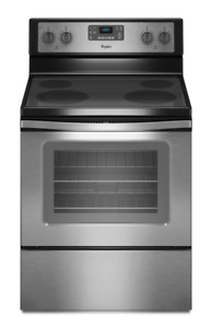 Brand New Whirpool 30 inch Stainless Steel Electric Range