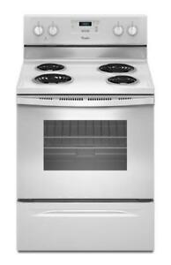 287 - NEUF - NEW Four Cuisinière 24'' WHIRLPOOL 4.8 pi.cu.ft. Stove Oven Range