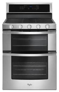 Whirlpool  Double Range Ovens WGG745S0FS  (WL636)