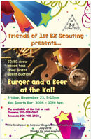 Burger and Bevie Fundraiser