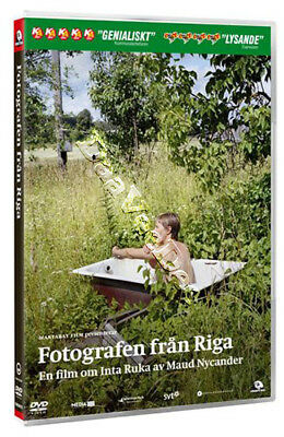 The Photographer from Riga NEW PAL Documentary DVD Inta Ruka Maud Nycander