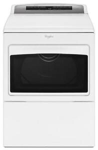 Whirlpool WGD7500GW 7.4 cu. ft. Large Capacity Gas Dryer on Sale (BD-2157)