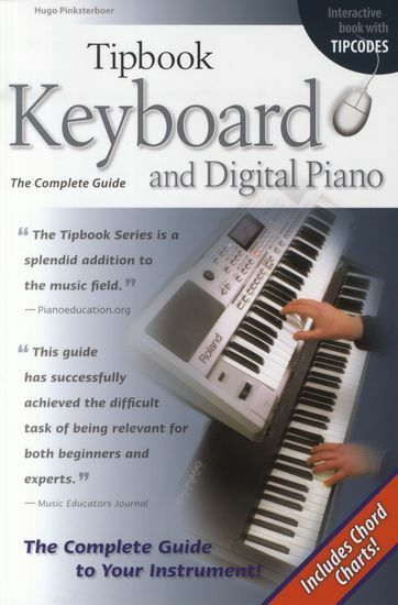 Tipbook Keyboard & Digital Piano Complete Guide MIDI Learn to Play Music Book