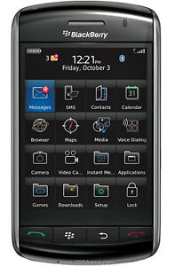 NEW Unlocked BLACKBERRY Storm 9500 GPS 3MP AT&T T-Mobile Cell PHONE Black