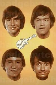 THE-MONKEES-LARGE-fridge-magnet-CLASSIC-RETRO-COOL