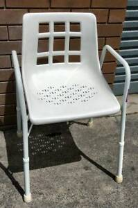 adjustable high Shower Chair with Arms