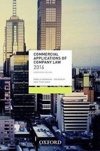 Commercial Applications of Company Law 2016 Banksia Rockdale Area Preview