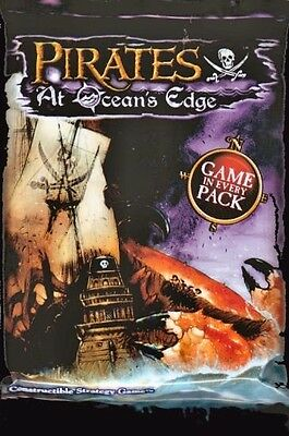 WIZKIDS PIRATES : AT OCEANS EDGE 36 BOOSTER PACKS NEW SEALED