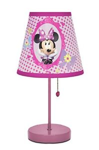 Minnie Mouse Table Top Lamp
