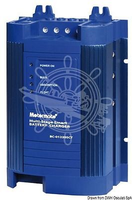Motormate Multistage Battery Charger 40A Max Assess with 1 Output 1.9kg