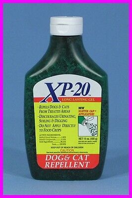 14 oz DOG and CAT REPELLENT and TRAINING AID with XP-20 Long Lasting GEL NEW