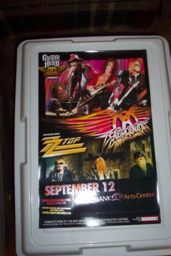 Aerosmith ZZ Top Tour Poster