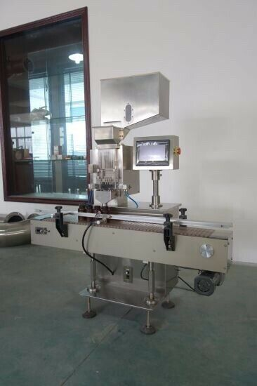 Automatic capsule counter ZJS-A  with conveyor. Change Parts For Size 0 and 00