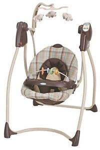 Graco Swing with food tray