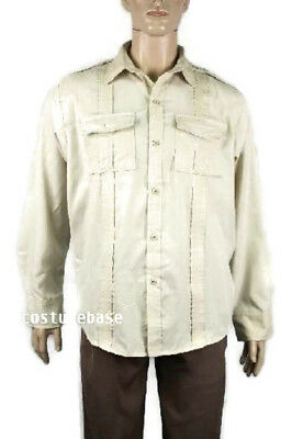 INDIANA JONES SHIRT Safari Raiders Costume Halloween @@](Safari Halloween Costume)