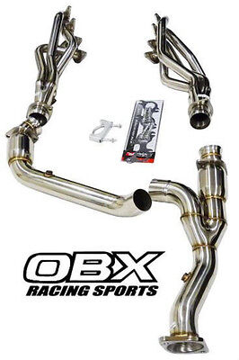 OBX Long Tube SS Exhaust Manifold Headers 2011 2016 Ford F 150 50L V8 ALL NEW