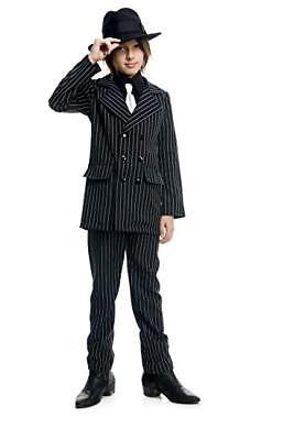 Boys Gangster Suit XL Size 12-14 - Boys Gangster Suit