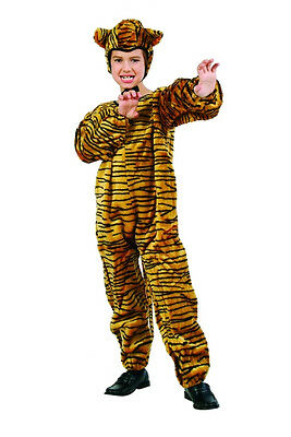TIGER CHILD COSTUME PLUSH FARM ZOO ANIMAL KIDS JUMPSUIT BOY GIRL COSTUMES 70074