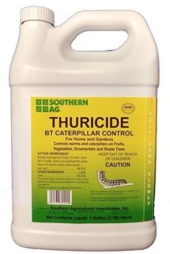 Thuricide BT Caterpillar Control Insecticide - 1 Gallon