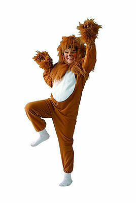 LION CHILD COSTUME KING OF JUNGEL LIONESS ANIMAL KIDS JUMPSUIT COSTUMES 90051](Lion Kids Costume)