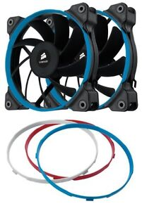 Cosair Air Series SP120 4-Pin Quiet Edition Fans Twin-Pack. New.