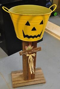 Halloween Shell Out Candy Pail