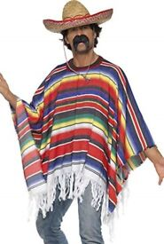 Pair of matching MEXICAN FANCY DRESS costumes