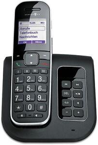 Telekom Sinus  A205 Comfort Schnurlos Telefon Anrufbeantworter Schnurloses A 205