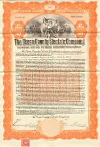 Ocean-County-Electric-certificate-signed-Edmund-S-Fritz