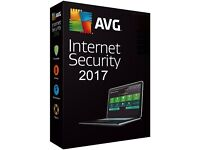 AVG Internet Security 2017 - 1 Year Unlimited Devices (PC) *DOWLOAD*
