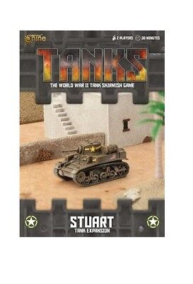 Gale Force Nine BNIB TANKS American Stuart Tank Expansion GFNTANKS46