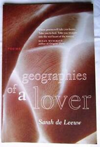 Geographies of a Lover by Sarah de Leeuw