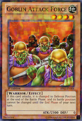 Yugioh! Goblin Attack Force - BP02-EN008 - Mosaic Rare - 1st Near Mint, English