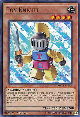 Toy Knight Common 1st Edition Yugioh Card MP15-EN244