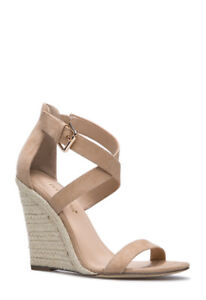 Brand new wedges shoes colour sand